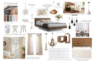 Концепция спальни