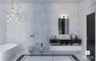 Ванная комната, 2 этаж