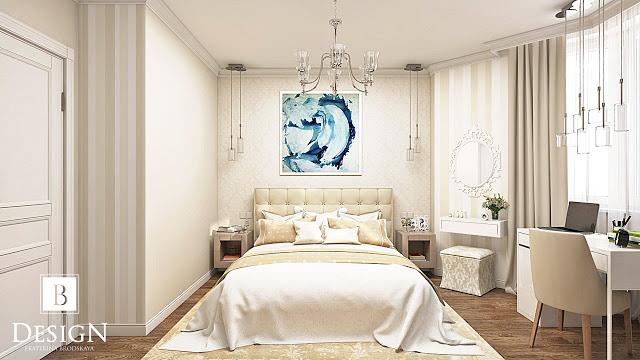 Дизайн малельной спальни
