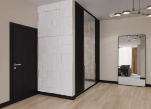 Встроенный шкаф для верхней одежды