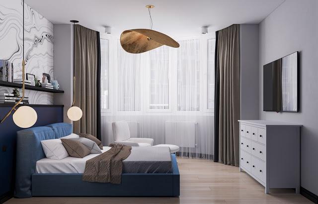 Главная спальня