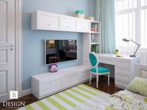 Детская комната маленькой девочки