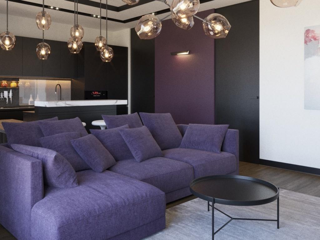 Дизайн проект интерьера квартир