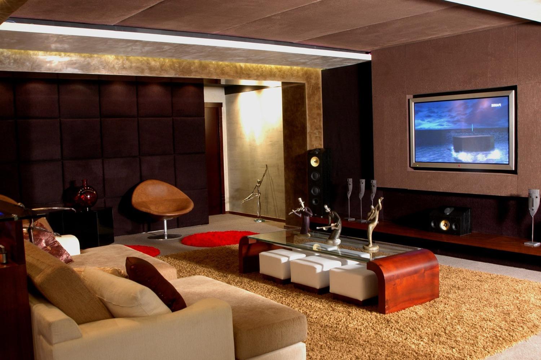 Домашний кинотеатр – современное дополнение интерьера