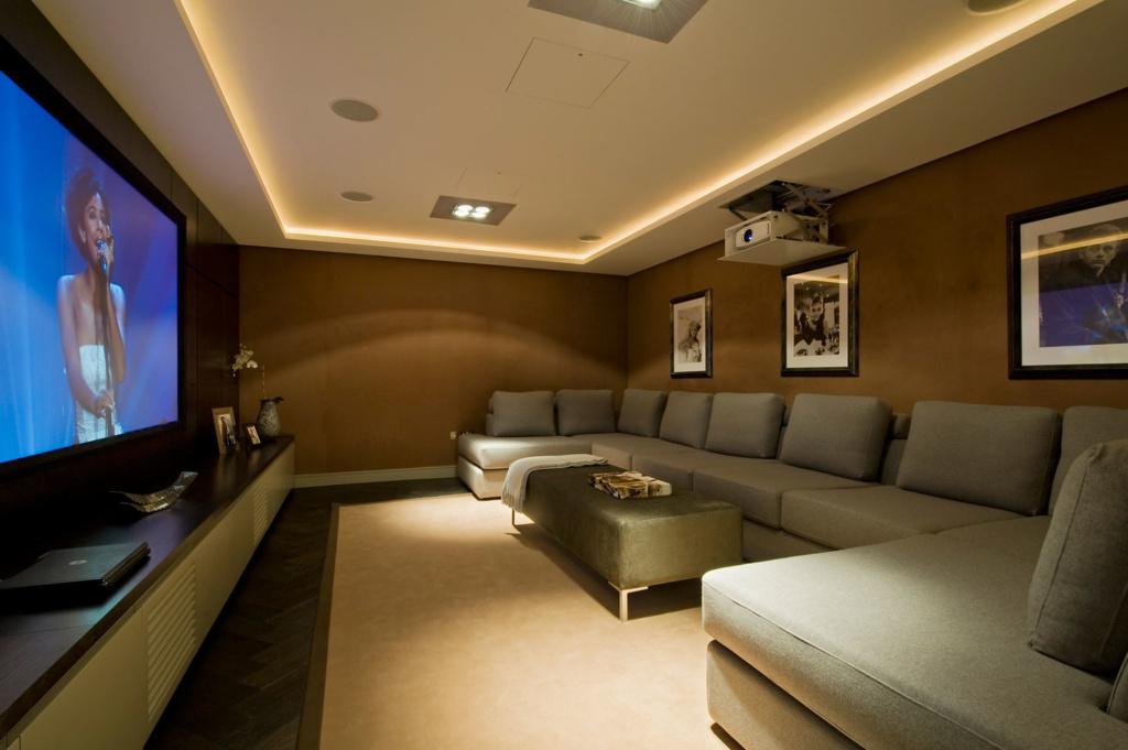 Домашний кинотеатр дизайн