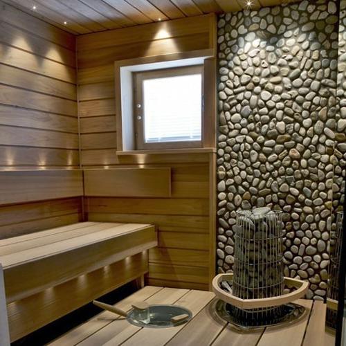 Дизайн помещения сауны